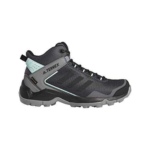 adidas outdoor Women's Terrex EASTRAIL MID GTX Hiking Boot, Grey Four/Black/Clear Mint, 8 M US