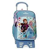 Frozen Awesome Moves Mochila Escolar con Carro, 42cm, Azul