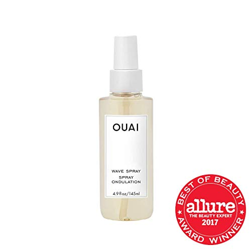 OUAI Wave Spray. For Perfect Yet Effortless Beachy Waves. The Wave Spray Adds Texture, Body and Shine and is Safe for Color- and Keratin-Treated Hair. Free from Parabens and Sulfates (4.9 oz) 3