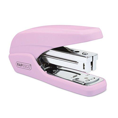 Rapesco Cucitrice da tavolo X5-25 Cuce fino a 25 fogli (80gsm) Colore: Rosa