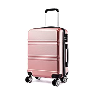 ☞【SIZE-INCLUDING WHEELS】---Height: 55cm, Length: 40cm, Width: 22cm. Weight: 2.5kgs. Capacity: 38 litres, As a 20 inch carry on luggage, It is accepted on the vast majority of airlines throughout the UK, Europe and North America. Including British Air...