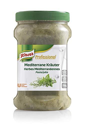 Knorr Professional Würzpaste Mediterrane Kräuter (natürlicher Geschmack, immer einsatzbereit) 1er Pack (1 x 750 g)