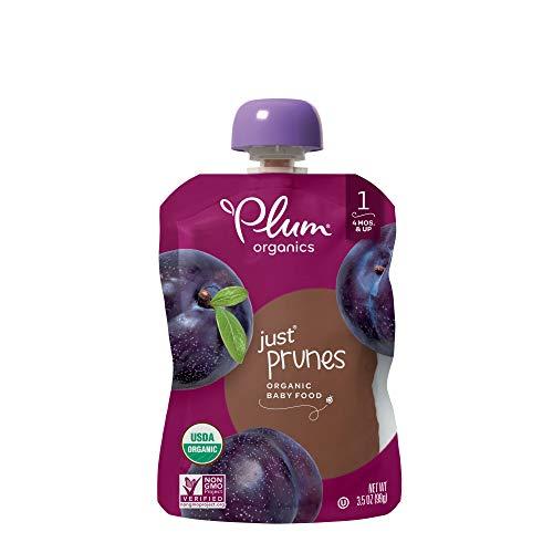 Plum Organics Stage 1, Organic Baby Food, Just Prunes, 3.5...