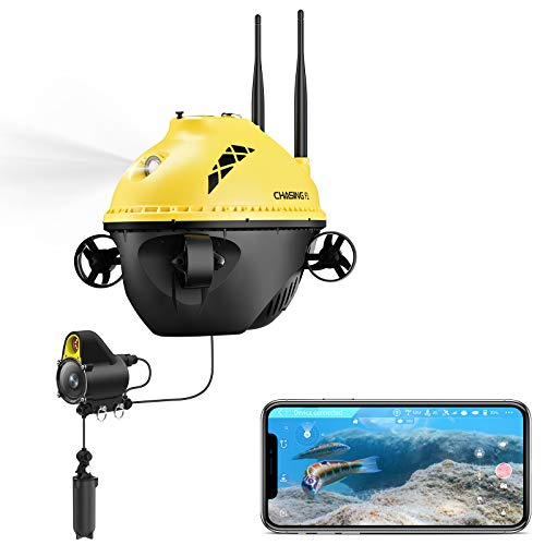ChasingF1 Fishing Finder; Underwater Drone Portable with 1080P Full HD Camera & Night Infrared...
