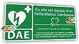 Sticker DAE - Défibrillateur Automatisé Externe Article R.6311-15 -...