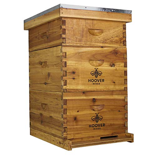 Hoover Hives 10 Frame Langstroth Beehive Dipped in...