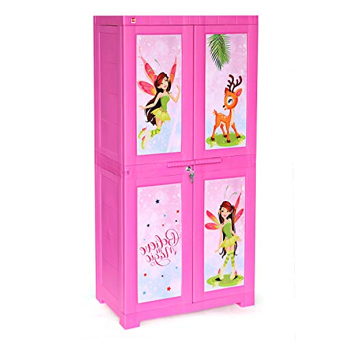 Cello Novelty Big Fairy Cupboard (Pink)