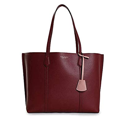 """Pebbled leather Height: 11.2"""" (28 cm); length: 13.6"""" (34 cm); depth: 5.3"""" (13.4 cm) Top handles with a 9.6"""" (24 cm) drop Style Number 53245 Imported"""