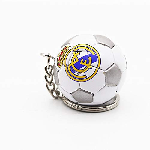 Portachiavi Uomo Donna Catene Portachiavi 3D Sports Football chiave portachiavi in pelle di souvenir...