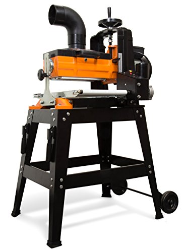 WEN 65911 10.5-Amp 10-Inch Drum Sander with Rolling Stand and Variable Speed Conveyor