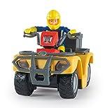 Smoby - 109257657002 - Vehicule Enfant - Sam le Pompier ,Quad Mercure - + 8...