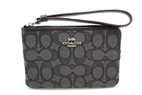 """41EcCWbd22L Size Approximate Measurements: 6 1/4"""" (L) x 4""""(H) Signature coated canvas Two credit card slots"""
