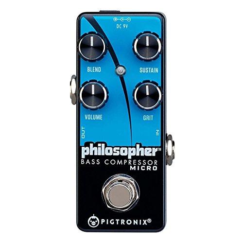 Pigtronix Philosopher Bass Compressor Micro Pedal