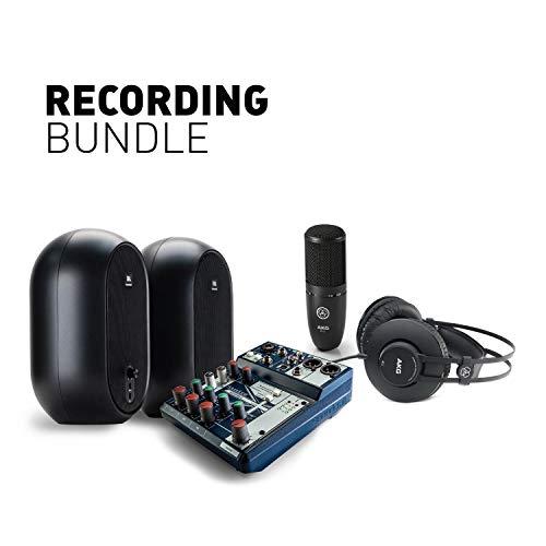 JBL Professional Recording Bundle for content creation, Podcasting, Vlogging, Instrument/Voice recording