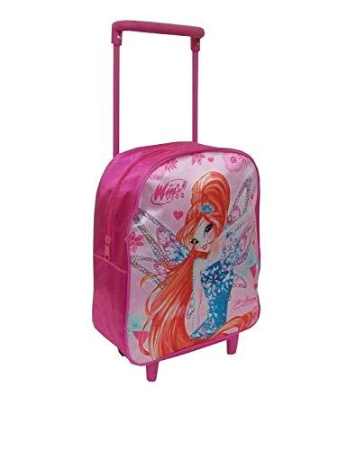 zainetto trolley winx club colore rosa per scuola-asilo