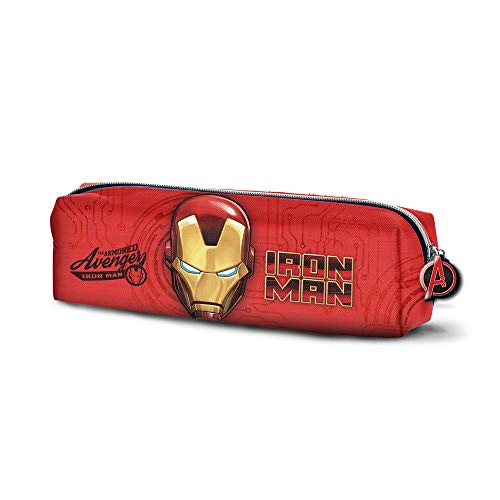 Karactermania Iron Man Armour-Quadrat Federmppchen Astuccio, 22 cm, Rosso (Red)