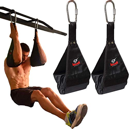 Premium Ab Slings Straps - Rip-Resistant...