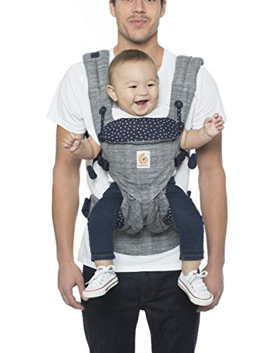 Ergobaby Carrier, Omni 360 All Carry Positions Baby Carrier, Star Dust