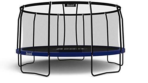 Beast Trampoline 15 ft Round with Premium Enclosure   Heavy Duty Trampoline   NO Weight Limit