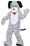 Forum Deluxe Plush Dog Mascot Dalmatian Costume, Black/White, One Size