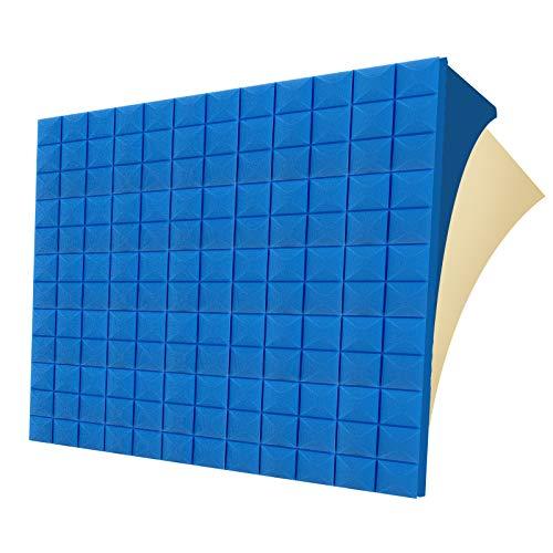 G-WACK 12 Pack SELF-ADHESIVE Sound Proof Foam Panels, 1.5' X 12'x...