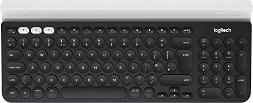 Logitech K780 Multi-Device - Teclado - Bluetooth - Italiano - Branco