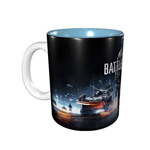 330ml Battlefield V バトルフィールドv マグカップ Mugs 電子レンジ温め Sky Blue