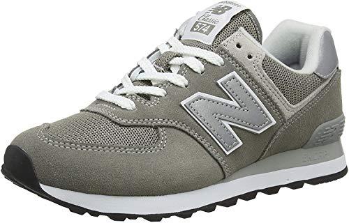 New Balance Mujer 574v2 Core, Zapatillas Gris (Grey), 37 EU