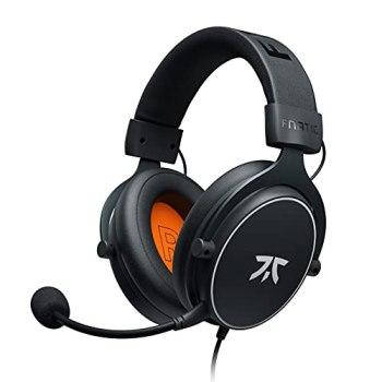 Casque gaming Fnatic REACT pour PS4/PC avec pilotes de 53mm, son stéréo, commande intégrée, des couissons Over-Ear à mémoire de forme. Compatible avec XBOX/Mobile/Switch/Wii U/Mac [playstation_4]
