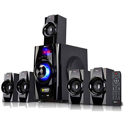 iBELL IBL2045DLX 5.1 Home Theater Speaker System Multimedia with FM Stereo, Bluetooth, USB/SD/MMC/AUX Function