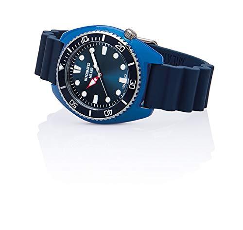 Watchmaker Milano Bella Vita Sub Orologio Uomo da Polso a Quartz con Cinturino in Silicone e Cover...