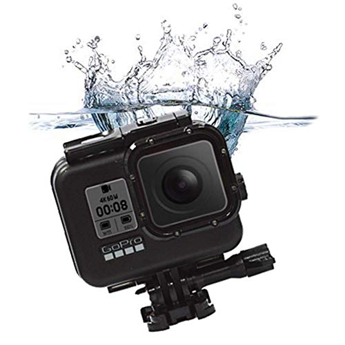 Waterproof Case For Gopro8, Lightweight Portable Camera Housing Case Protective Diving Case For GoPro Hero8 Action Camera