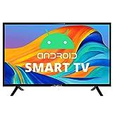 IVELECT 81 cm (32 inches) HD Android Smart Soundbar LED TV (Black) (2020 Model)