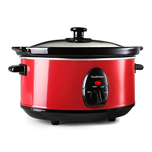 Klarstein Bristol 35 Olla de cocción Lenta 3,5 L (200W Potencia,...