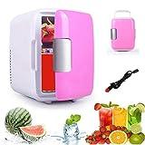 Globalurja.com Cool & Warm Car Refrigerator 4lt Pink