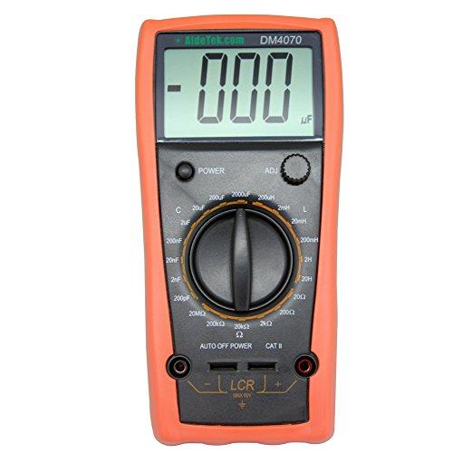 AideTek DM4070 LCR Meter multimeter Tester