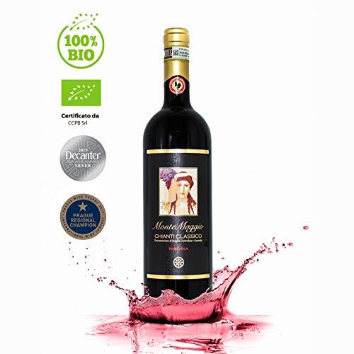 Chianti Classico Riserva di Montemaggio - Vino Rosso Toscano Biologico DOCG Gallo Nero - Fattoria di Montemaggio - Annata 2012  0.750 L - 1 bottiglia