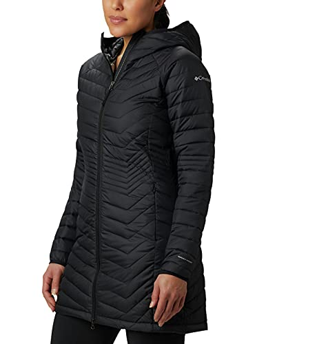 Columbia Women's Powder Lite Mid Jacket, Black, Small