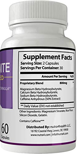 Keto Ignite Advanced Pills Weight Loss Supplement, Appetite Suppressant with Ultra Advanced Natural Ketogenic Capsules, 800 mg Fast Formula with BHB Salts Caffeine Ketone Diet Boost Metabolism 2