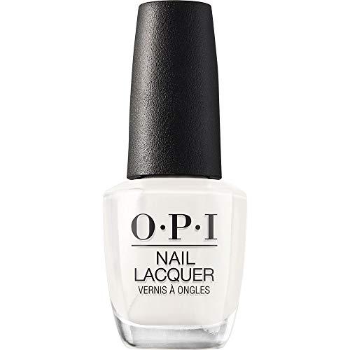 OPI Nail Polish, Nail Lacquer, Funny Bunny, White Nail Polish, 0.5 Fl Oz