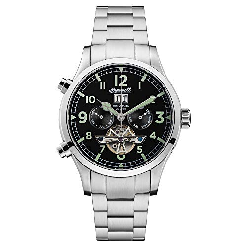 Ingersoll The Armstrong Gents Automatic Watch I02103 with a Stainless Steel case and Stainless Steel Bracelet