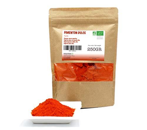 FRISAFRAN - Pimentón Ecologico (Pimentón Dulce, 250Gr)