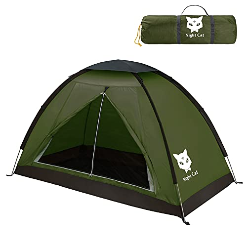 Night Cat Tente de Camping pour 1 Personne Homme Imperméable Tentes de...