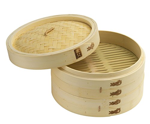 41F81ghhuTL - The 7 Best Bamboo Steamers- A Healthy And Inexpensive Way to Cook