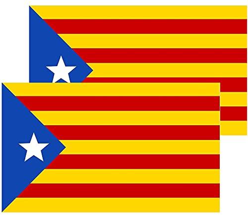 Bandera de catalunya independentista Estelada blavan 150 x 90 cm Flag