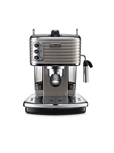 De'Longhi Scultura ECZ351.BG Macchina da Caffè Espresso Manuale e Cappuccino, Caffè in Polvere o...