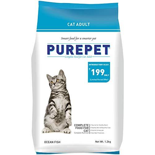 Purepet Ocean Fish Adult Cat Food, 1.2kg