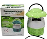 SKE LED Mushroom Shaped Mosquito Trap USB Operated Inhaler Killer Lamp (Battery Not Required)