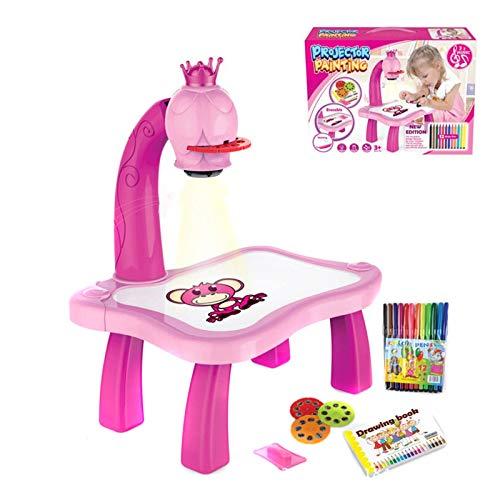 Giocattolo per tracciare e disegnare per bambini, proiettore di disegno per bambini, gioco di tracciamento e proiezione dei proiettori, gioco per bambini e bambini