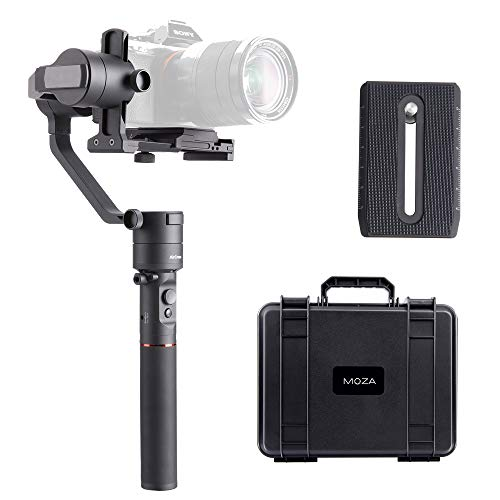 MOZA Aircross 3-Axis Handheld Gimbal Stabilizzatore per fotocamere mirrorless Serie Sony Alpha A7, serie GH Panasonic